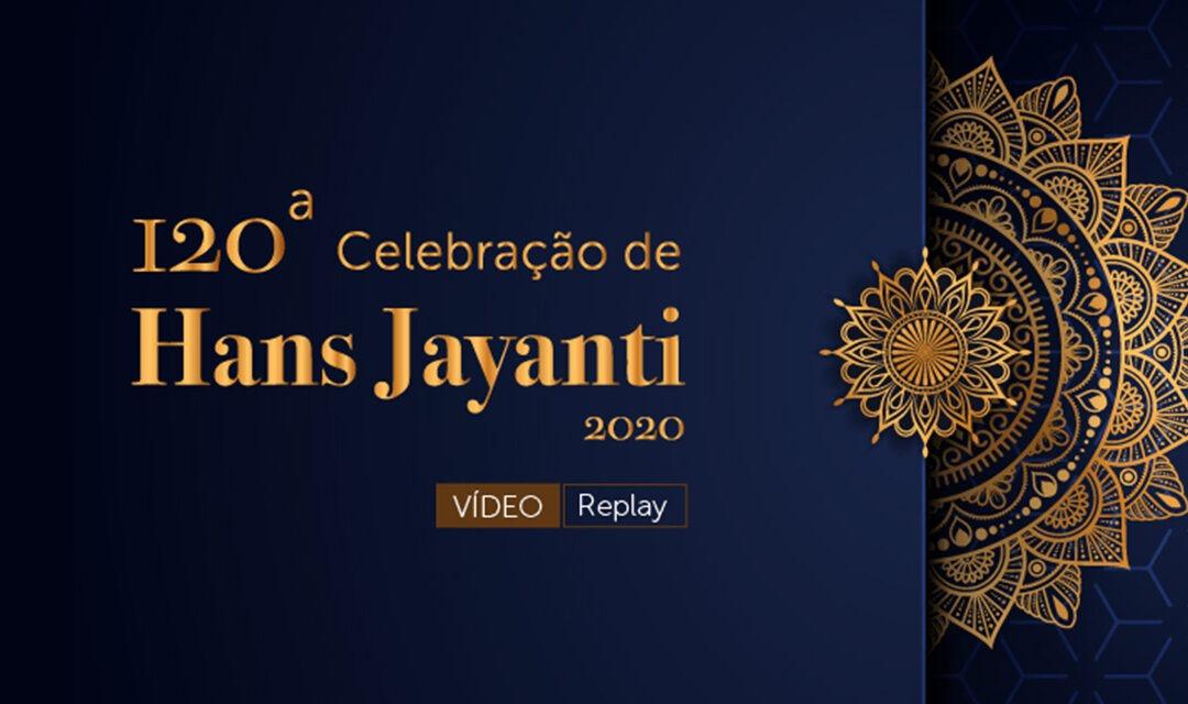 120ª Celebração de Hans Jayanti